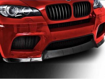 Накладка на передний бампер M BMW X6