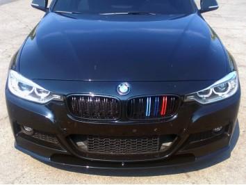 Накладка на передний бампер M BMW 3 series F30