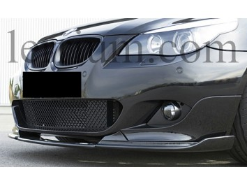 Накладка (губа) на передний бампер М-пакет BMW 5 series E60