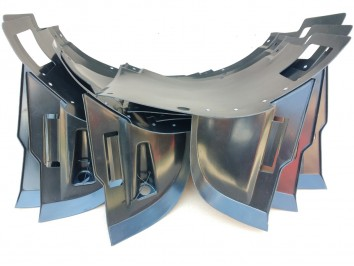 Подкрылки (локера) рестайлового бампера BMW 5 series E39