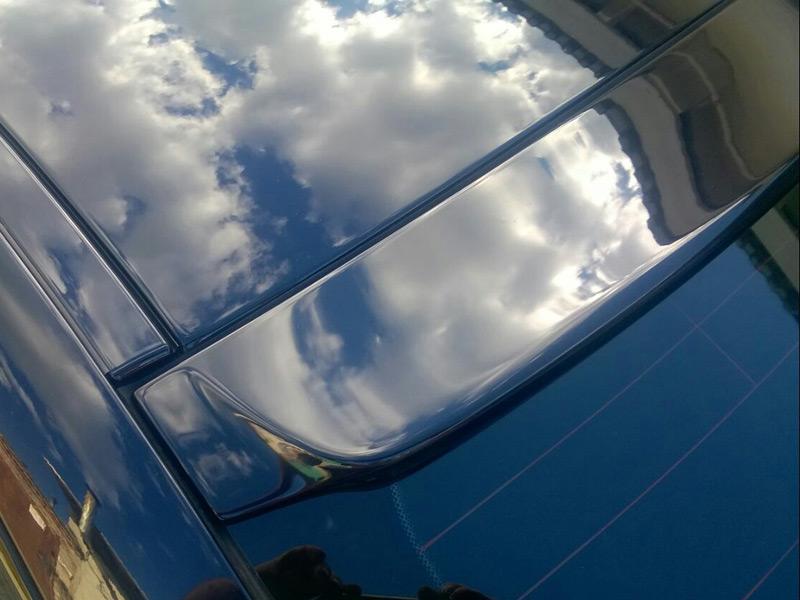 Козырек (бленда) заднего стекла BMW 5 series F10